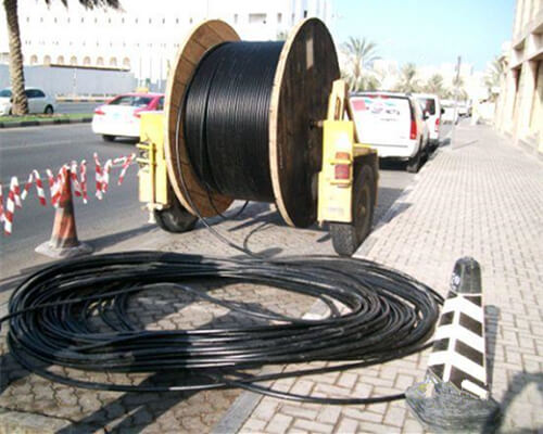 Direct Buried Fiber Optic Cable