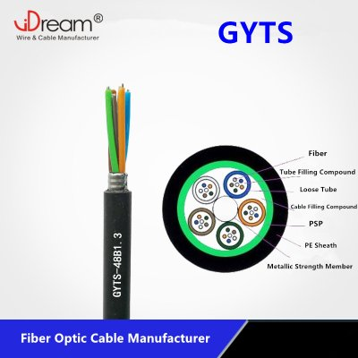 GYTS Fiber Optic Cable