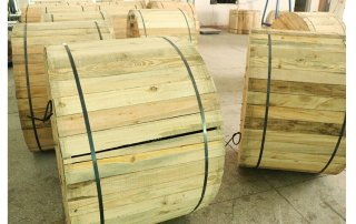 wooden drum packing