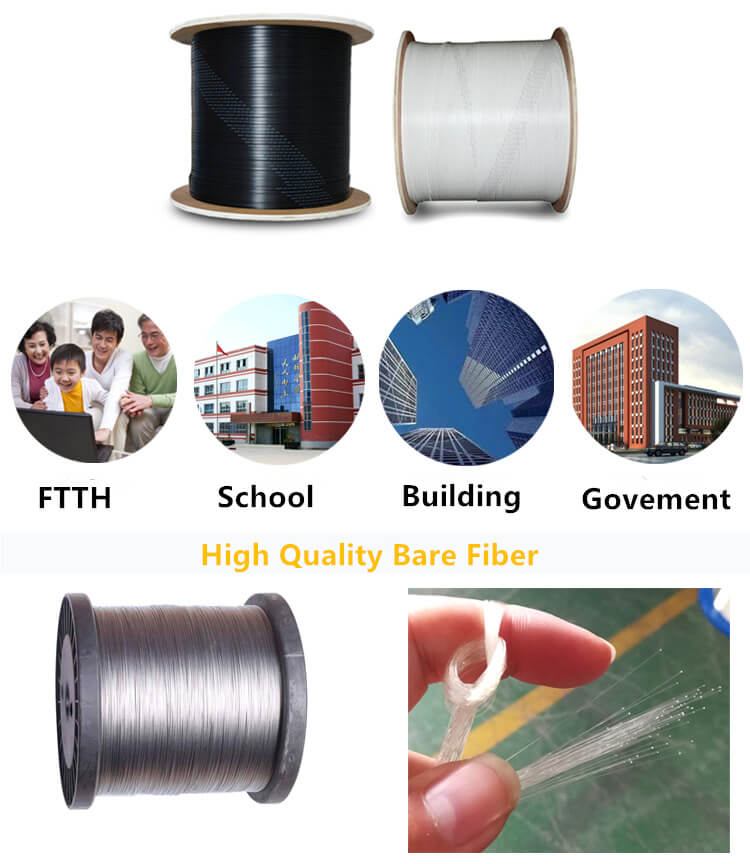 FTTH Fiber drop Cable use range