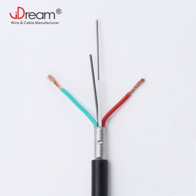 Fiber Cable with Power Cable