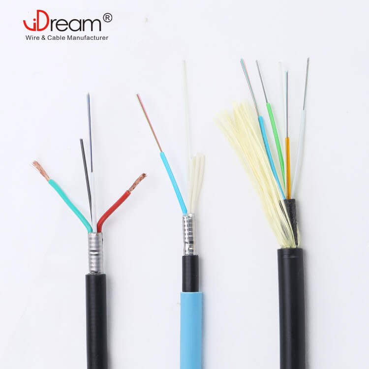 Fiber optic Cable with power