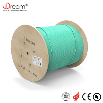 OM3 Indoor fiber optic cable GJFJH 48F