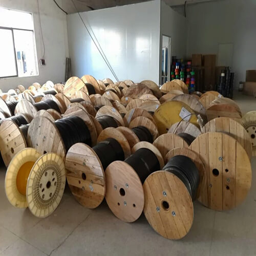 iDream Fiber optic cable wooden drum